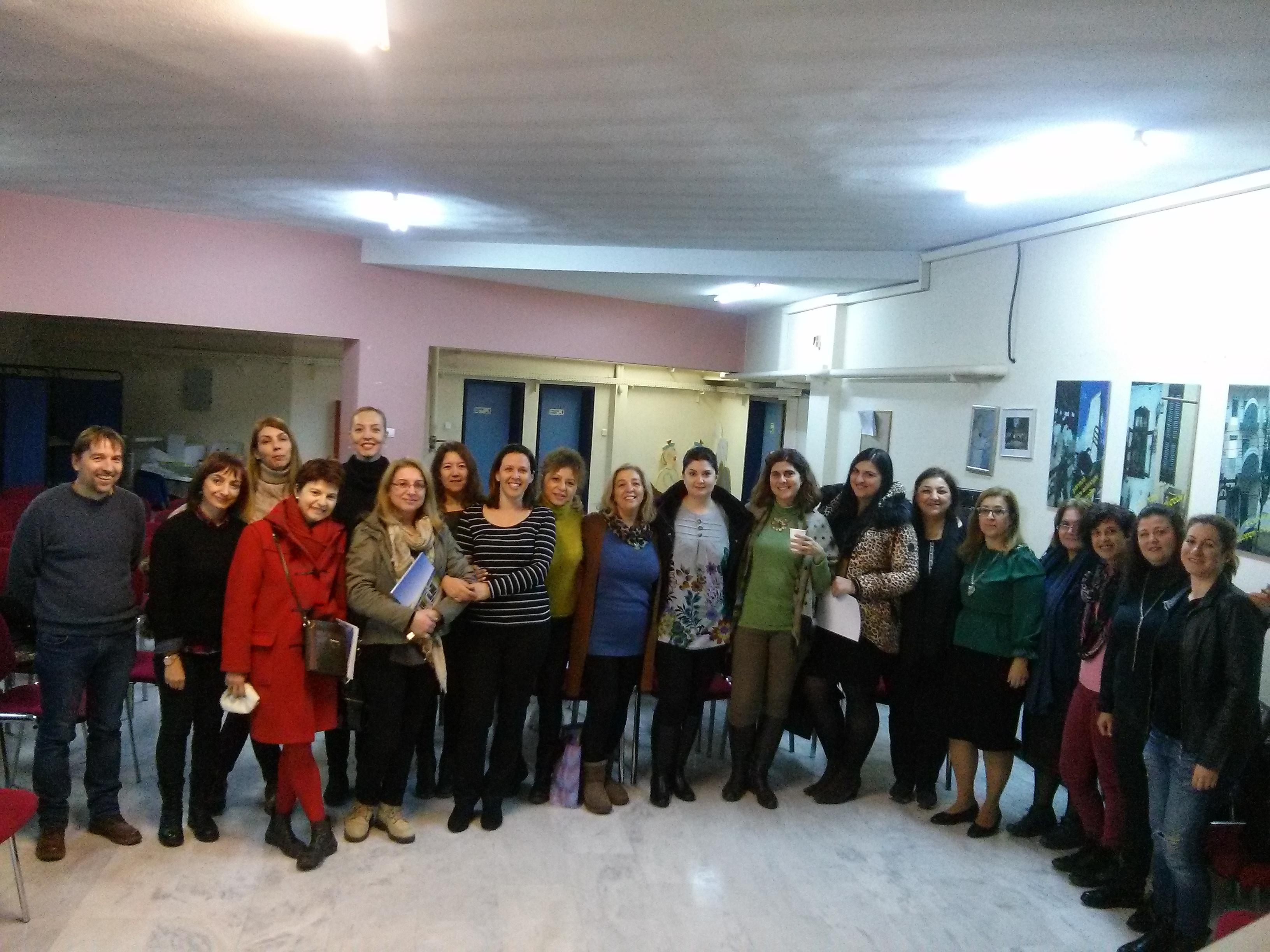 Ολοκλήρωση σεμιναρίου με Νηπιαγωγούς στα Γιαννιτσά